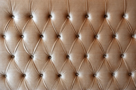 brown button-tufted leather background.  photo