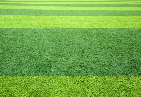 Close-up image of football grass background.  photo