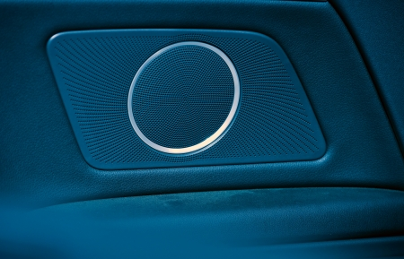 car audio tuning - door speakers. photo