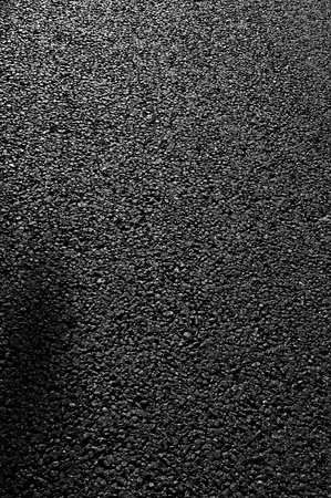 Black asphalt of a road