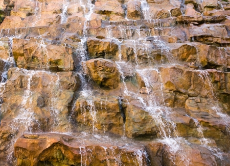 The beautiful waterfall over rocks. Stock Photo - 13827416