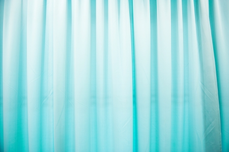 Abstract blue texture of drapery and linens.  photo