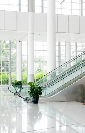 Moderní architektura velké obchodní konferenční centrum.