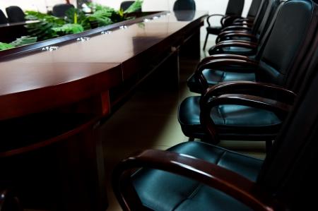 empty boardroom or meeting room.  photo