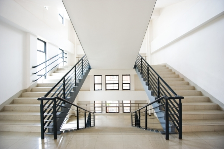 up stair: Modern stairs in a building