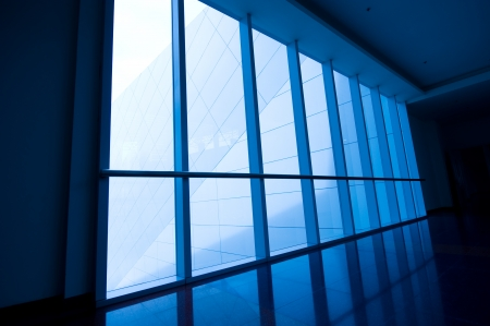 image of windows in morden office building.
