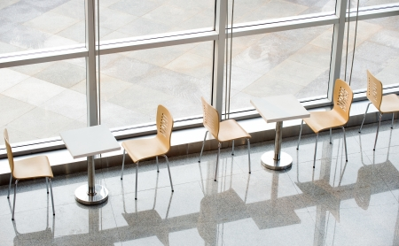 office bar with many chairs and table. Stock Photo - 13861077