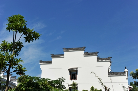 Chinese ancient architecture of Huizhou.  photo