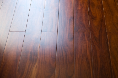 hardwood: Wooden floor - can be used as a background  Stock Photo