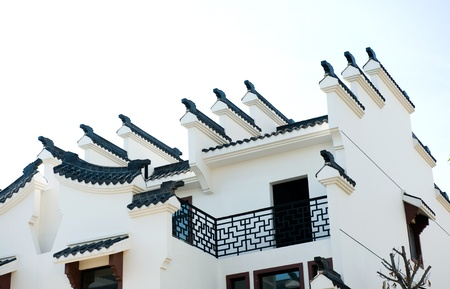 Chinese ancient architecture of Huizhou.  Stock Photo - 13829684