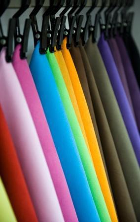 orange washcloth: Color palette sample picker of leather material.