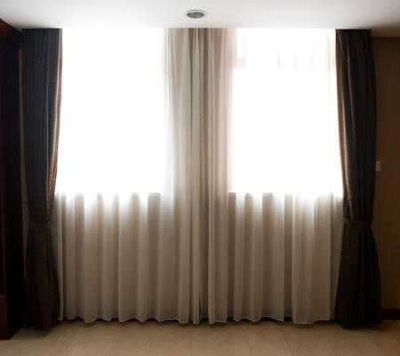 modern curtains Stock Photo - 13954605