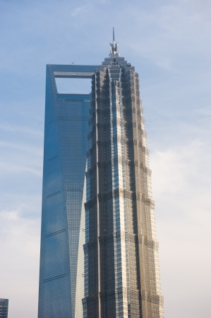 jin mao tower: Jin Mao Tower and Shanghai word financial center