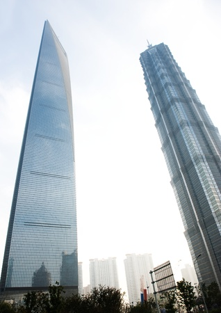 jin mao tower: Jin Mao Tower and Shanghai word financial center Editorial