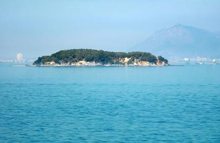 islet: Islet above sea without anybody