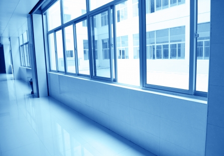 empty corridor in the  hospital. Stock Photo - 14142394