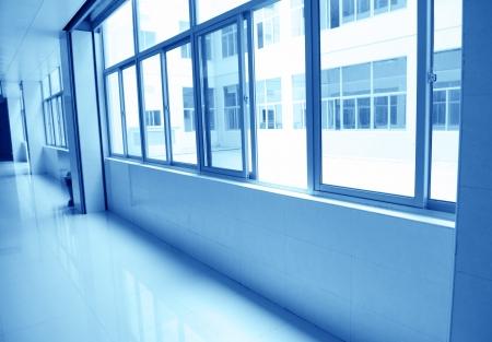 empty corridor in the  hospital. Stock Photo - 14142394