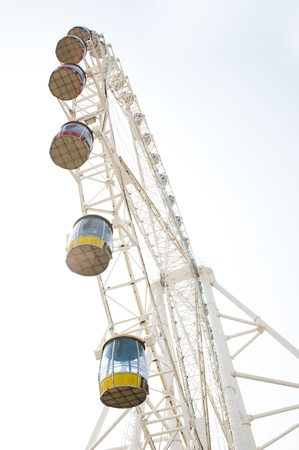 ferris wheel against on the sky Stock Photo - 14083813