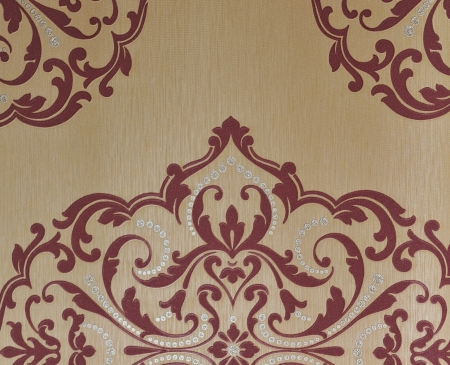 Seamless luxury floral vintage gothic wallpaper.  photo