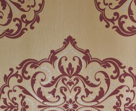gothic design: Seamless luxury floral vintage gothic wallpaper.