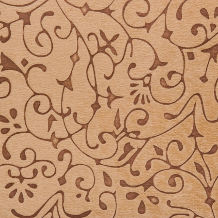 Luxury seamless beige floral wallpaper background. photo