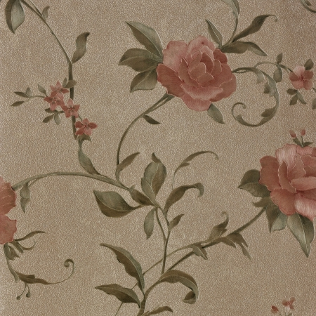 textile pattern with floral ornament useful as background.  photo