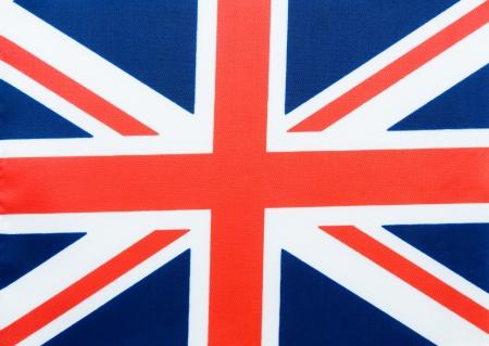Close-up shot of  United Kingdom flag.  photo