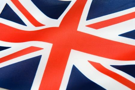 welsh flag: Close-up colpo di ondulate bandiera britannica