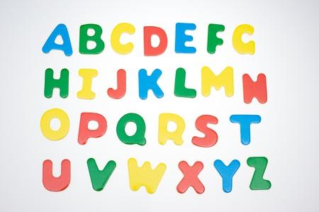 abc blocks: Colorful baby blocks set of capital letters alphabet.
