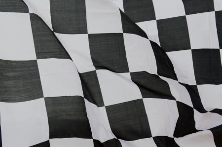 bandera carrera: close-up de las carreras de bandera, de fondo.