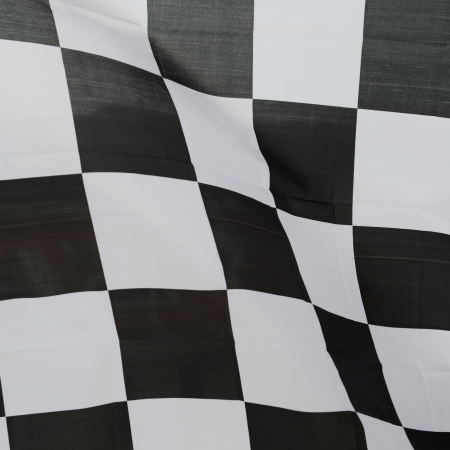 close-up of racing flag, background. Stock Photo - 14588920