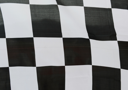 close-up of racing flag, background. Stock Photo - 14595732