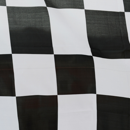 close-up of racing flag, background. Stock Photo - 14595102