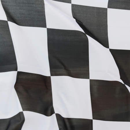 close-up of racing flag, background. Stock Photo - 14594635