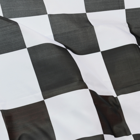 close-up of racing flag, background. Stock Photo - 14595054