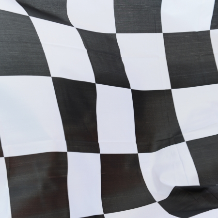 close-up of racing flag, background. Stock Photo - 14588864