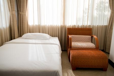 Interior shot of a modern bedroom. Stock Photo - 15302955