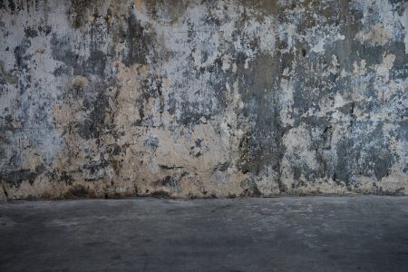 cracked concrete vintage wall background, old grunge wall Stock Photo - 16502447