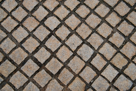 Background of stone floor texture photo. photo