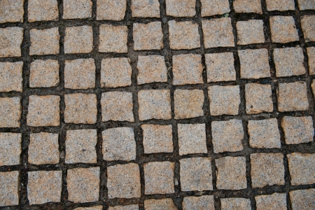 Background of stone floor texture photo