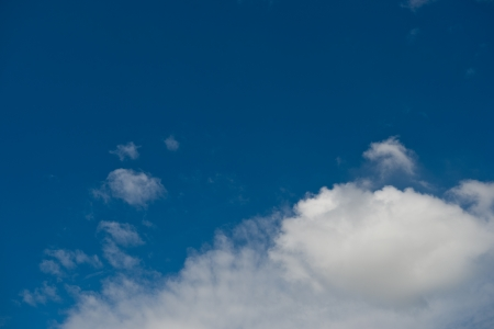 White clouds in blue sky. Stock Photo - 17414977