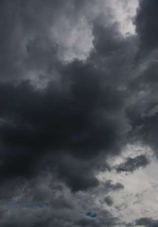 Background of dark clouds before a thunder-storm Stock Photo - 17414913