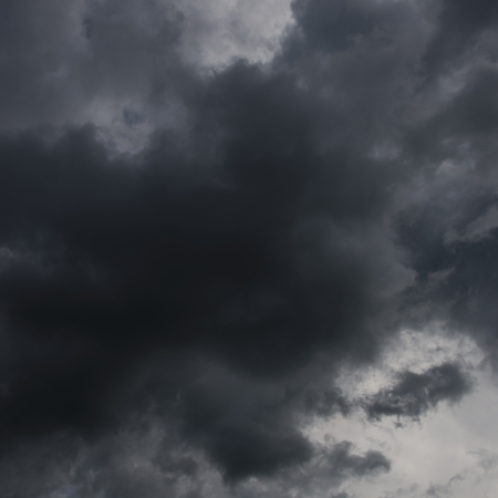 Background of dark clouds before a thunder-storm  Stock Photo - 17414707