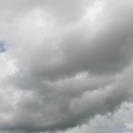 sky with  puffy white clouds. Stock Photo - 17414709