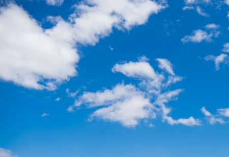White cloud in the blue sky. Stock Photo - 17414705