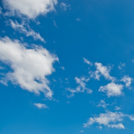 White cloud in the blue sky. Stock Photo - 17414704