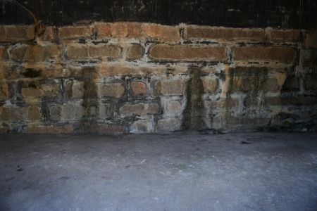 old grunge wall  and floor. photo
