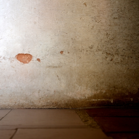 old grunge concrete wall  and floor. photo