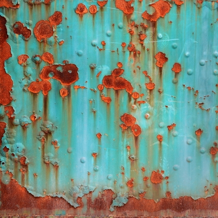 Background of grunge metal plate. Stock Photo - 17575374