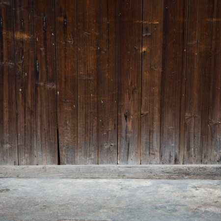 old grunge wall  and floor. Stock Photo - 17572174